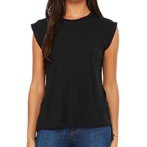 Tops - Black tee- never been worn